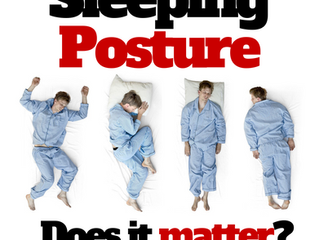 Sleep Posture - Does it actually matter?