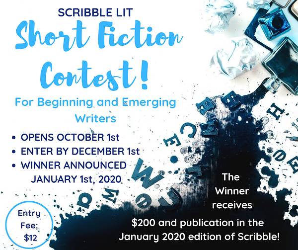 scribble lit short fiction contest trans