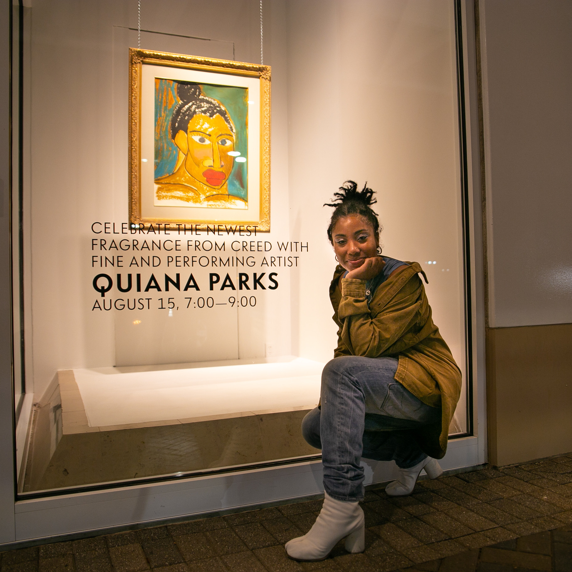 QUIANA PARKS   NEIMAN MARCUS   ART & SOUND EXPERIENCE