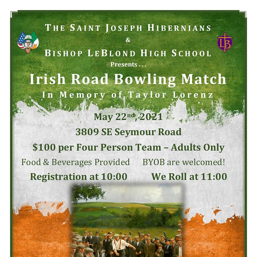 1st Annual Taylor Lorenz Road Bowling