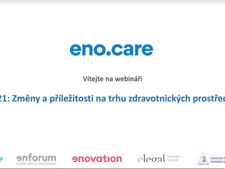 """Webinář """"2021: Změny a příležitosti na trhu zdravotnických prostředků"""" - otázky a odpovědi"""