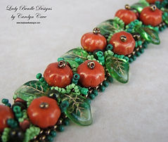 Pumpkin Patch Bracelet detail WM sm.jpg