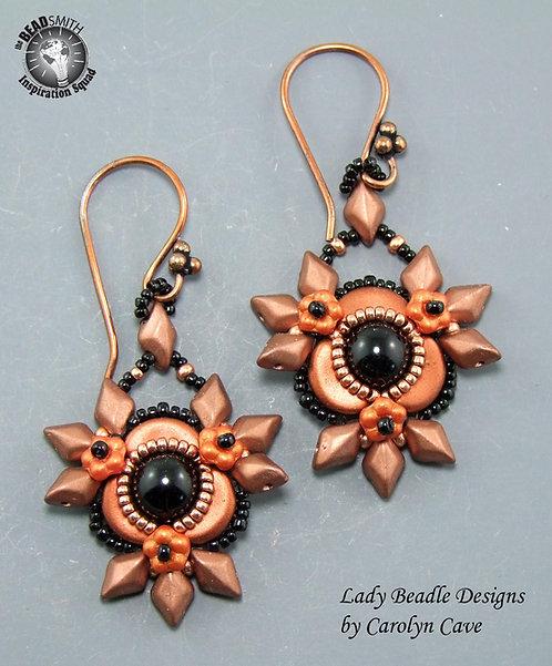 Earrings ~ Firethorn