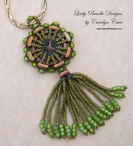 Pendant ~ Buttoned Up