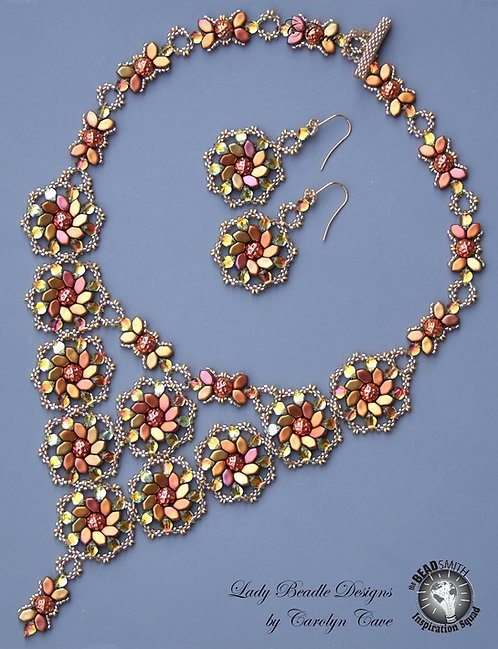 Necklace and Earrings ~ Julia