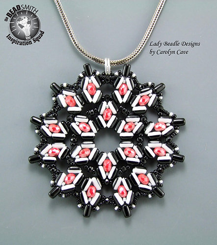 Pendant ~ Cherry and Licorice Rulla