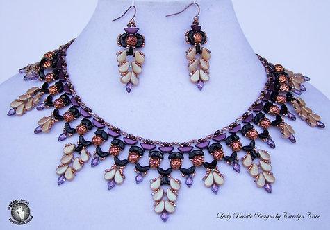 Necklace ~ Kiya Collar and Earrings