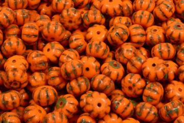 Pumpkin Beads 8x11mm