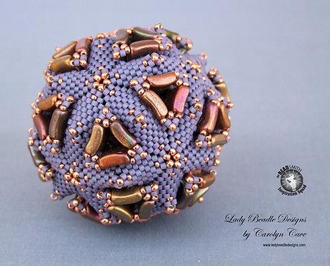 Beaded Sphere ~ Tricorne