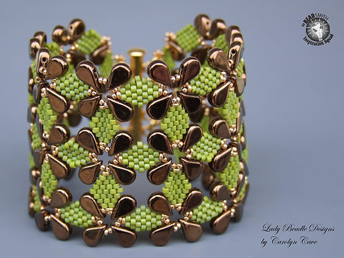 Bracelet ~ Dancing Diamonds Cuff