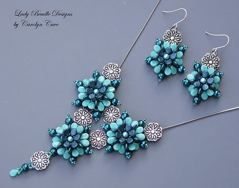 Necklace and Earrings ~ Letitia