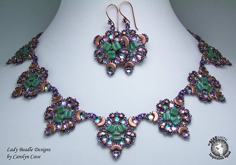 Necklace and Earrings Kit ~ Nouveau Gem