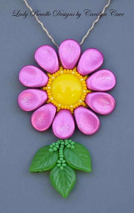 Pendant ~ Anemone Flower
