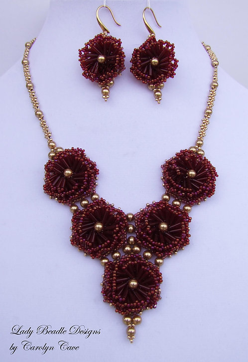 Necklace and Earrings Kit ~ Astrid