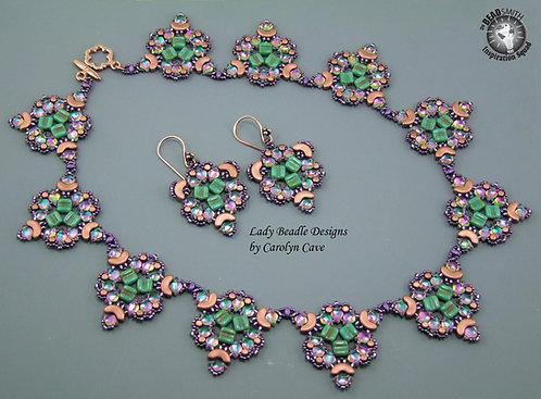 Necklace and Earrings ~ Nouveau Gem