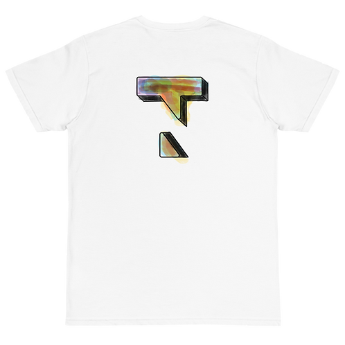 3D Painting Multicolor Tee