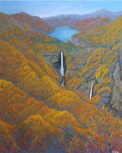 瀑秋(華厳の滝)