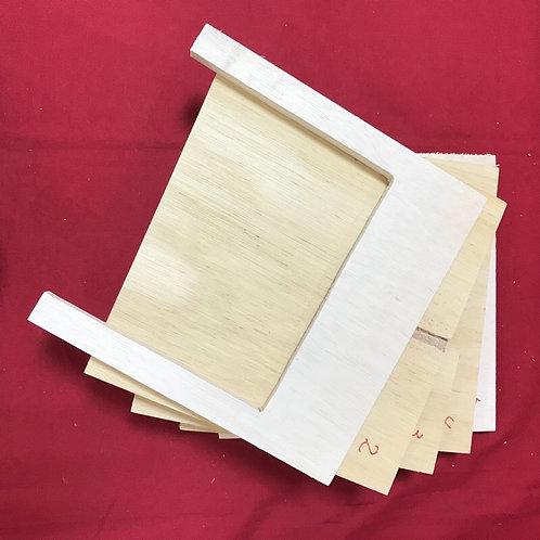 iPad用無電源木製スピーカー(自作キット)