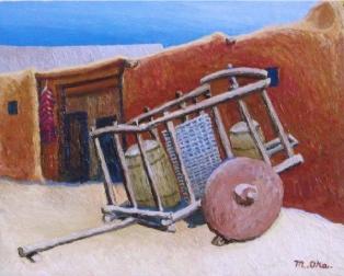荷車(アメリカ・ニューメキシコ)