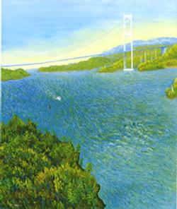 春の来島海峡