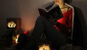 Agnès d'Huart, Décoration d'intérieur écologique, Gibbidy, créations en carton, luminaires en carton, découpé au laser, Photo design, mannequin