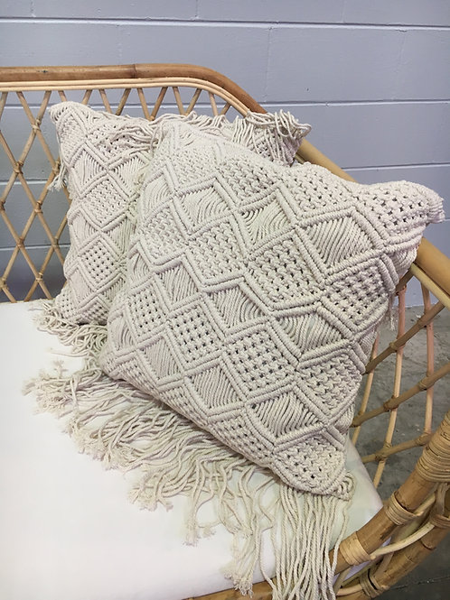 Macramé Cushion Square II