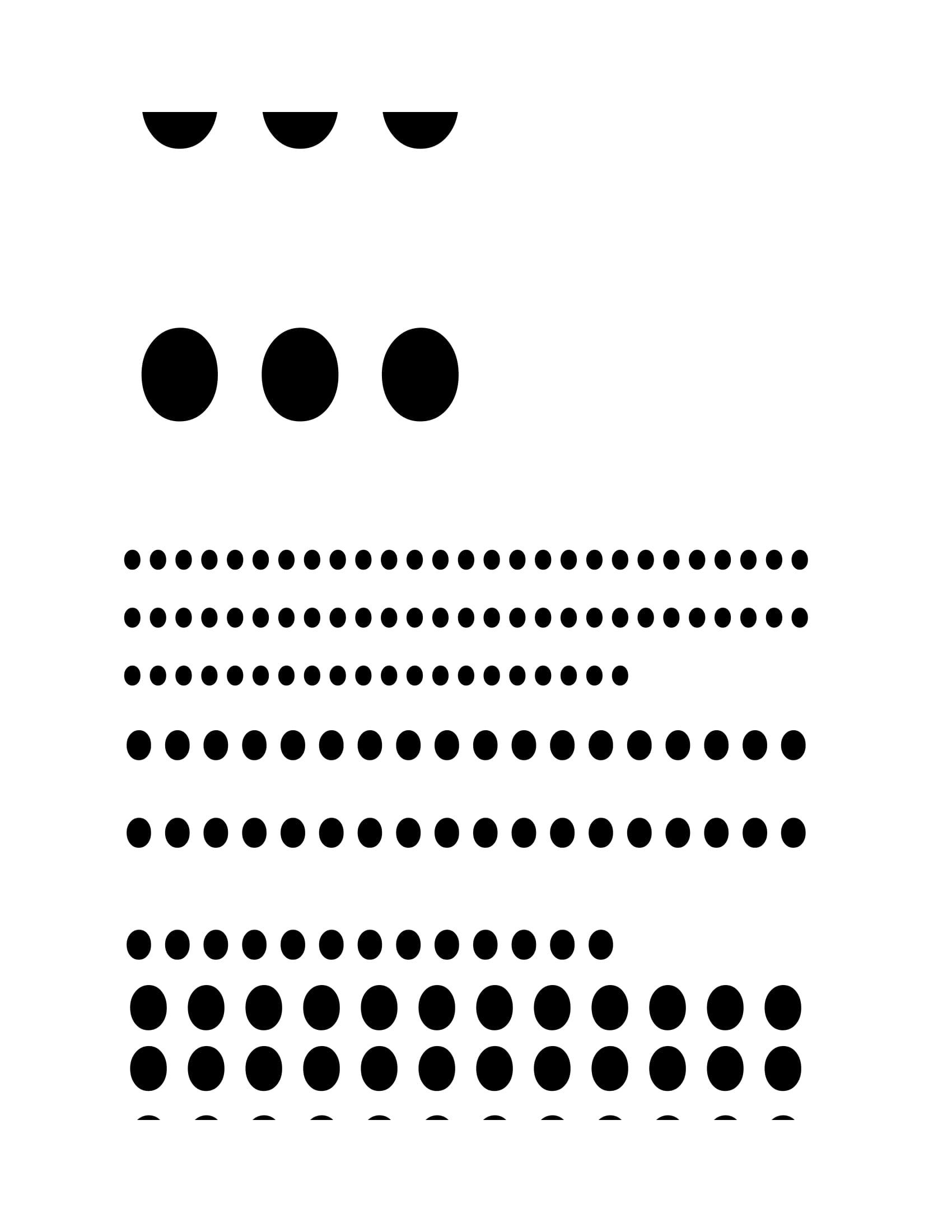 dots 1-4