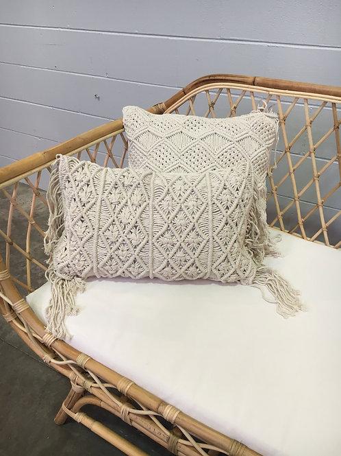 Macramé Cushion Rectangular