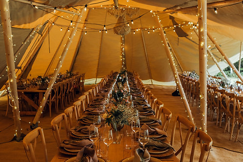Fairy Lights for Tipi Interior