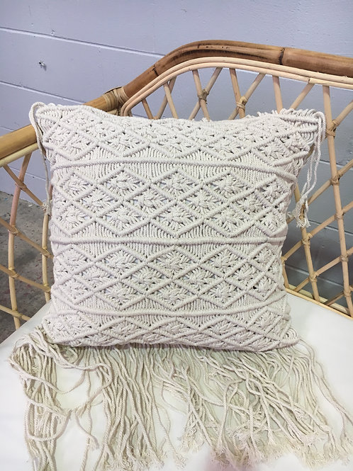 Macramé Cushion Square