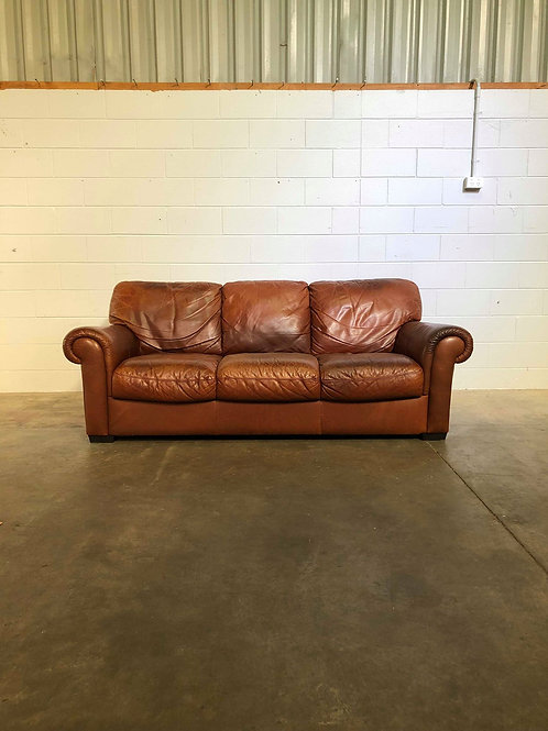 Leather 3-Seater Sofa ll