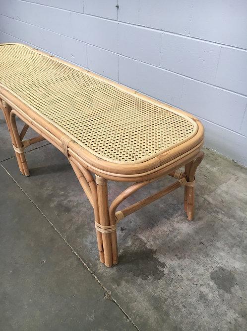 Rattan Bench Seat