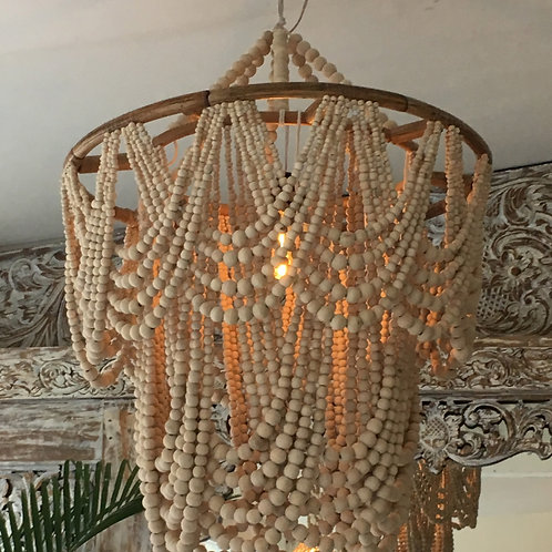 Balinese beaded chandelier
