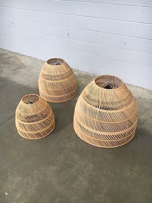 Bohama Rattan Lampshade (three sizes)