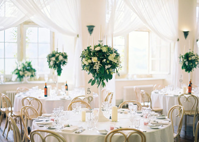 A wonderfully light room, perfect for Spring and Summer weddings