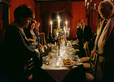 The State Dining Room is a wonderful spot for a rehearsal supper