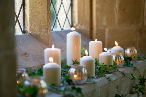 Church Pillar Candles