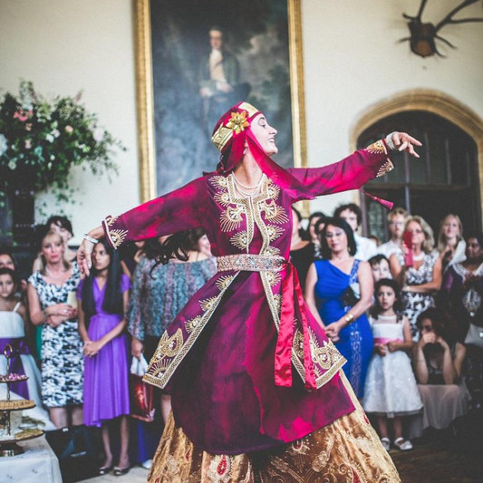 Persian Wedding Ceremony in the Great Hall