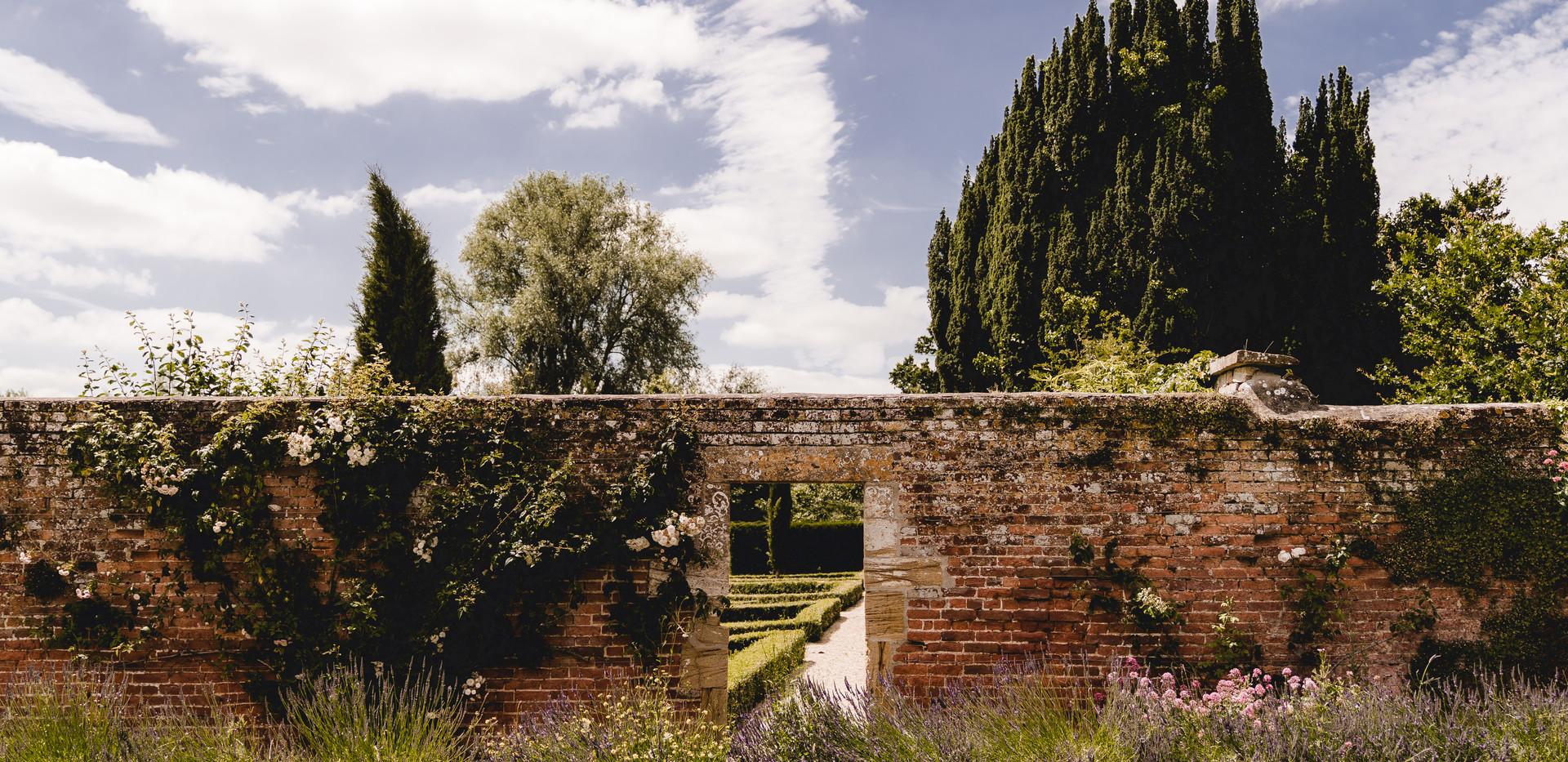 The romantic Walled Garden