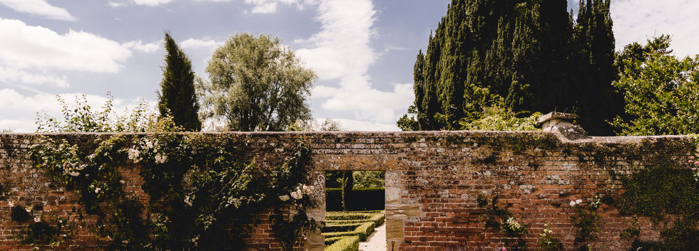The romantic Walled Garden