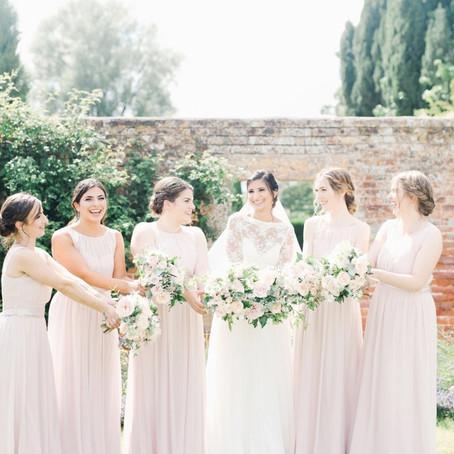 A Summer wedding at Brympton House