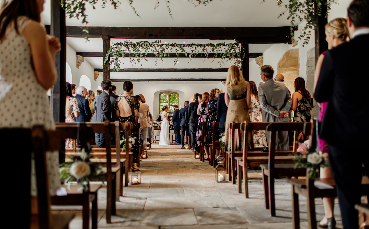 A lovely long aisle, leading up the Altar window