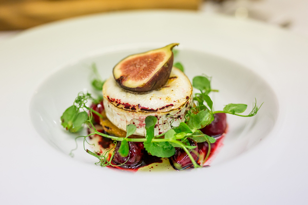 Goats Cheese with Fig