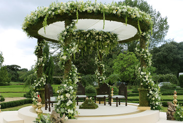 Mandap in the Walled Garden