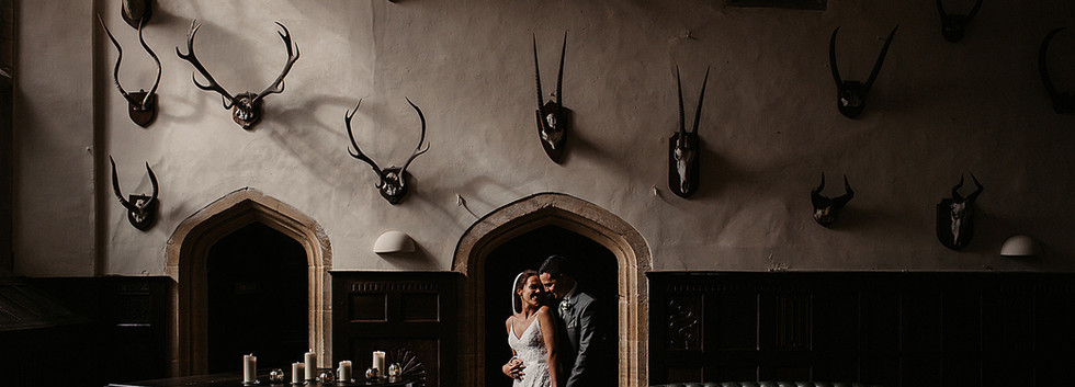 Beautiful couple shot taken in the Great Hall