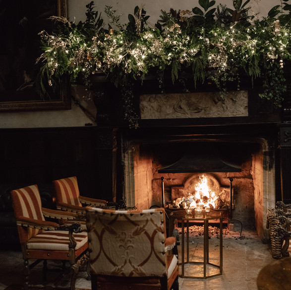 A Gorgeous Fire in the Great Hall