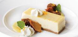 Vanilla and Lemon cheesecake