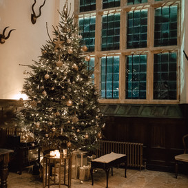 Winter Wedding in the Great Hall