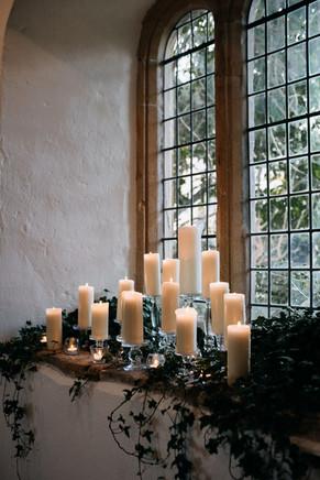 Altar Window Candle Design