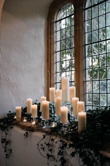 Altar Window Candle Design